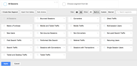 Different%20Segments%2013 گوگل آناليتيك چيست؟