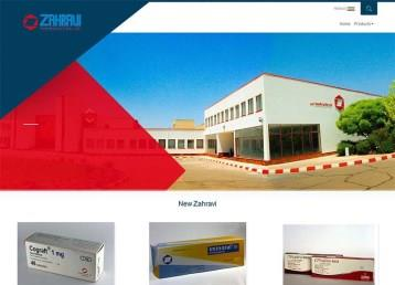 zahravi pharma website