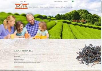 Sofia Tea Website