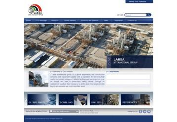 Larsa International Group website