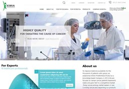 Kimia Pharmaceutical website