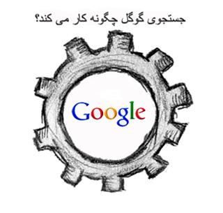 جستجوي گوگل چگونه كار مي كند