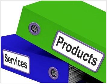 محصولات و خدمات سایت